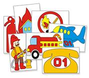 Цветные картинки по пожарной безопасности