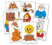 Картинки для детей сказочные герои