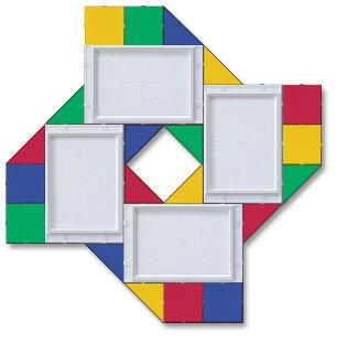Оформление стен в детском саду