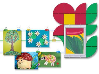 Выставка детских работ в ДОУ