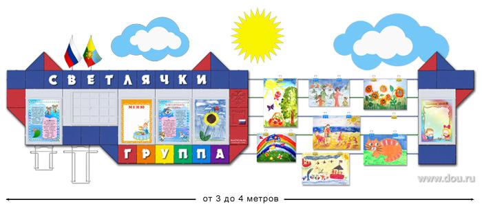Оформление группы детского сада, название группы