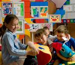 Стенды в интерьере детского сада
