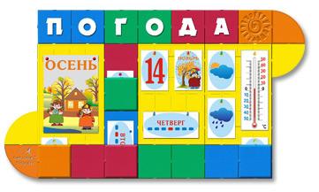 Яркий стенд Календарь природы