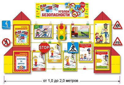 Картинки уголков безопасности в детском саду