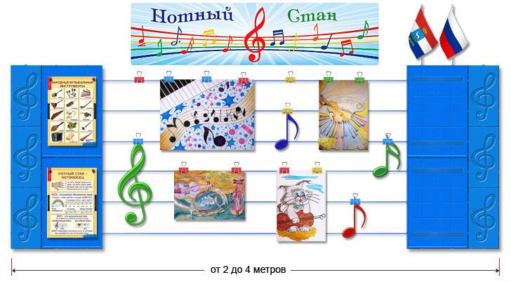 Оформление музыкального уголка в детском саду