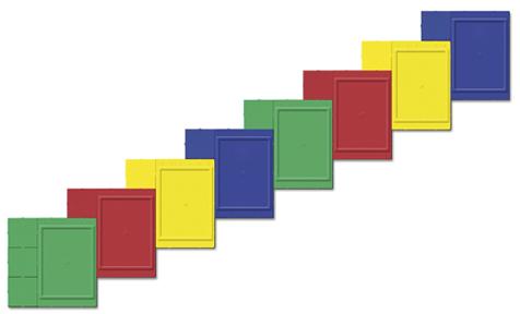 Стенд для лестницы в детском саду