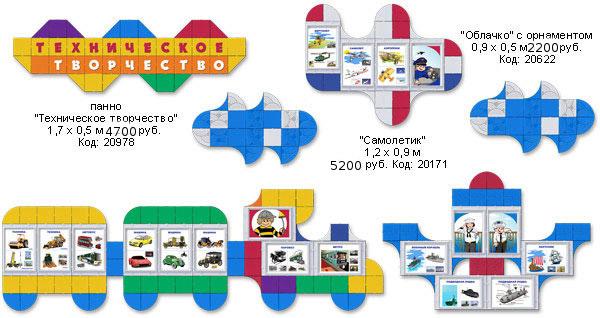 Стенды для детского творчества в детском саду, начальной школе