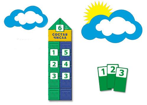 Стенд для учебной зоны детского сада