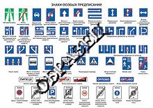 Дорожные знаки для школьников