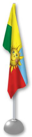 Флаг для ДОУ Солнышко