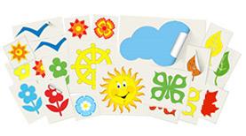 Наклейки для детского сада