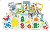 Комплекты детских картинок, плакатов, наклеек для оформления стендов