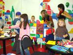 Уголок творчества в детском саду